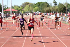AIA State Track Meet Day 2 802 (Az Skies Photography) Tags: 100m hurdles girls girls100mhurdles 100mhurdles 100mhurdlesgirls aia state track meet may 2 2018 aiastatetrackmeet aiastatetrackmeet2018 statetrackmeet 4 may42018 run runner runners running race racer racers racing athlete athletes action sport sports sportsphotography 5418 542018 canon eos 80d canoneos80d eos80d canon80d high school highschool highschooltrack trackmeet mesa community college mesacommunitycollege arizona az mesaaz arizonastatetrackmeet arizonastatetrackmeet2018 championship championships division iii divisioniii d3