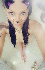 (liquidpopqt6969) Tags: naked shower wet naughty faketits meow doubled slippery tattoo kitty hot pale hourglassfigure flatstomach piercings cateyes hazeleyes nomakeup suds nicelegs tinyfeet dancerfeet size5feet beautifulfeet soapsuds dripping tattoos quartersleeve perky redhead