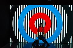 Shapes (petia.balabanova(tnx for +3 million views)) Tags: forms stripes white black blue red shapes circles lines centrepompidou malaga art museum travel shadows lights nikond800 2470mm colors boy