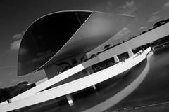 The eye (alestaleiro) Tags: architecture arquitectura mono monochrome curitiba theeye mom oscarniemeyer alestaleiro
