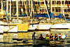 Enjoy the sun (Fnikos) Tags: port porto puerto harbour sun sunset boat sailboat sea water waterfront architecture building rowing remo people outdoor