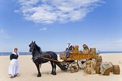 Feest aan Zee (Mary Berkhout) Tags: maryberkhout feestaanzee 200jaarbadplaats scheveningen historie strand wagen paard zand zee