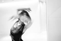 Now you see me... (Frank Busch) Tags: frankbuschphotography asia bw beauty blackwhite blackandwhite bnw dance dancer dancing japan monochrome people portraits tokyo woman wwwfrankbuschname yuka