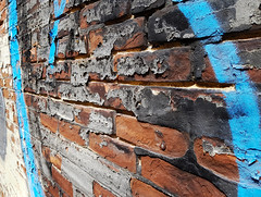 Texture and Color (jeffcbowen) Tags: bricks paint peeling old abstract