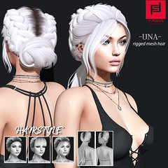 Una (FABIA.HAIR) Tags: tres chik hair rigged moda woman beauty look piktures fabia nice meef head special second sl secondlife sweet event fashion hairstyle life lovely avatar spam style shopping new release best love everyday art