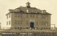 Manitou - Consolidated School (vintage.winnipeg) Tags: manitoba canada vintage history historic manitou