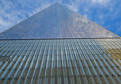 World Trade Center Tower 1 (dog97209) Tags: world trade center tower 1 from base straight up 101 stories nyc ny