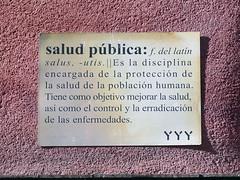 Placa. Arte Urbano. Yipi Yipi Yeah - 2018/05 (Madrid) (Juan Alcor) Tags: arteurbano placa yyy yipiyipiyeah madrid malasaña españa spain saludpublica