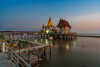 Siamese sunset on the temple (technodude67) Tags: 2018 airy architecture buddhism building calm dusk hystorical landscape longexposure moody outdoor outdoors placeofworship sea seascape shore sunset th thailand tranquil travel traveldestination wanderlust water watertrail worship