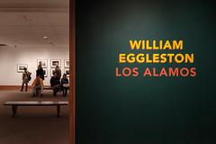 William Eggleston - Los Alamos (ep_jhu) Tags: nyc x100f newyork entry manhattan ny losalamos fujifilm metropolitanmuseumofart museum newyorkcity fuji lettering exhibit sign eggleston art show unitedstates us classicchrome