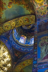 In the Cathedral of the Resurrection of Christ (or Savior on Blood) (atardecer2018) Tags: orthodox architecture arquitectura iglesia church sanpetersburgo санктпетербург православие храм архитектура