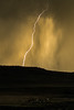Spear of the Gods (O.S. Fisher) Tags: antelopeisland greatsaltlake utah campground clouds cropped electric landscape lightning nationalpark nature powerful storm yellow