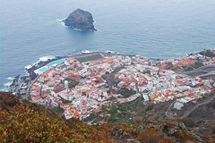 our next destination :) (green_lover (I wait for your COMMENTS!)) Tags: garachico town tenerife canaryislands spain fromabove ocean water travels