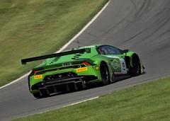 Blancpain Brands Hatch #19 Lamborghini Huracan GT3 (If it Has Wheels I'll Snap it !) Tags: motorsport brands hatch huracan lamborghini gt3 19 racing car sprint pirelli blancpain green