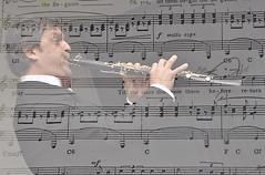 EMOZIONE MUSICALE 2 (ADRIANO ART FOR PASSION) Tags: nikon nikond90 doppiaesposizione musica spartito clarinetto nikkor18200 95mm adrianoartforpassion adriano
