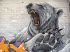 Rose St Car Park / Melbourne, VIC (rgiw) Tags: melbourne victoria australia city street olympusomdem1 mzuiko1240mm blackwhite bw schwarzweiss sw colour farbe stadt monochrome strasse mood stimmung life leben diversity vielfalt international building gebäude mural streetart artist