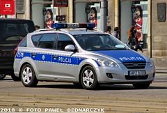 Z578 - Kia Cee'd SW - WRD KSP (Pawel Bednarczyk) Tags: z578 hpzb320 kia ceed ksp komenda stołeczna policji warszawa wrd drogówka elektra ges policja polizei police policedepartment radiowóz