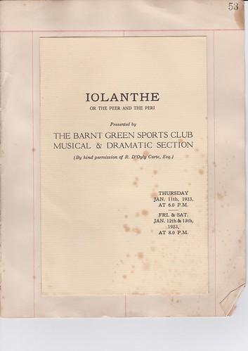 1923: Jan Programme 1