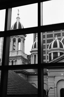 St. Joseph Basilica from San Jose Museum of Art