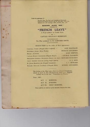 1931: Nov Programme 4