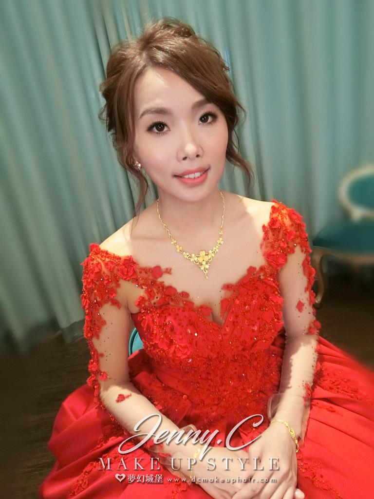 【新秘蓁妮】bride佩宸 訂婚造型 / 員林皇潮鼎宴