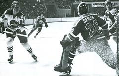 Winnipeg Jets vs Edmonton Oilers (vintage.winnipeg) Tags: winnipeg manitoba canada vintage history historic sports winnipegjets