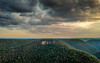 Martins Lookout Sunset No.1 (Michael Rawle) Tags: martinslookout drone bluemountains arial places sunset bluemountainsnationalpark newsouthwales australia au
