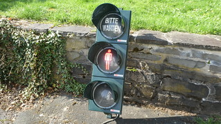 AVT-STOYE LED Pedestrian Signal with white lenses