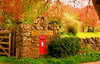 The Old Post Box (acwills2014) Tags: oldcwmmill pillarbox postbox mail red rural spring fresh blossoms colour countryside landscape composition gwent