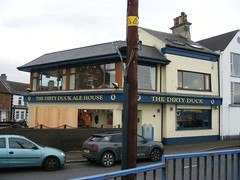 Holywood / Belfast Lough - on a cool evening in April 2017 (sean and nina) Tags: holywood county down ireland irish eire north northern belfast lough water sea cold cool april spring 2017 evening town rural outdoor outside eu europe european dirty duck pub public house bar ale licensed premises