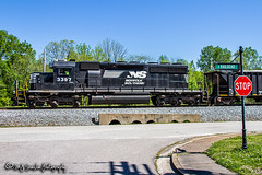 NS 3397 | EMD SD40-2 | NS Memphis District West End (M.J. Scanlon) Tags: a95 business cr cr6469 canon capture cargo color commerce conrail corinthlocal digital emd eos engine freight haul horsepower image impression landscape locomotive logistics mjscanlon mjscanlonphotography merchandise mojo move mover moving ns ns3397 nsa95 nsmemphisdistrict nsmemphisdistrictwestend norfolksouthern outdoor outdoors perspective photo photograph photographer photography picture rail railfan railfanning railroad railroader railway real rossville sd402 scanlon sky steelwheels super tennessee track train trains transport transportation tree view vulcan vulcanmaterials wow ©mjscanlon ©mjscanlonphotography