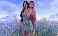 Letters From The Sky ♫ (Selena Paine) Tags: secondlife catwa maitreya tetra addams insol atelierpepe rama girls couple blogger blog fashionblog