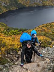 Day 1 first climb (MakeReel Martin Ryan) Tags: cradlemountains makereel martinryan overlandtrack tasmania trekking martinryanmakereelcom cradlemountain australia au