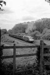 Vans head south. (Duck 1966) Tags: gcr 33035 crompton class33 emrps goods train diesel locomotive