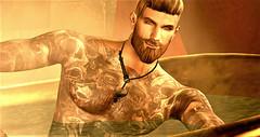 Come on in (Toby ~) Tags: catwa belleza jake tattoo men male bath