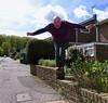 Don't jump 13-365 (12) (♔ Georgie R) Tags: wall werehere wah hereio jump