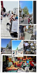 BANK HOLIDAY STREET GATHERINGS (Orchids love rainwater) Tags: collage cheltenham street fair sunday