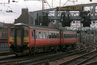 156501, Glasgow Central, April 10th 1995