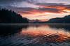Sunrise Reflection (Bastian.K) Tags: sonnenaufgang see lake reflexion spiegelung mirror voigtlander vm 35mm 17 ultron pcx 5m optosigma water wasser slowenien slovenia