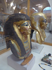 Funerary Masks of Yuya & Thuya (Aidan McRae Thomson) Tags: cairo museum egypt ancient egyptian