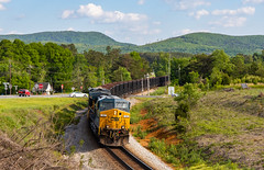 Rydal,GA (Kyle Yunker) Tags: csx ac4400cw ac44cw ge general electric locomotive train mountain