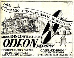 Publicidade, 1927 (Hemeroteca Municipal de Lisboa (Portugal)) Tags: hemeroteca digitallibrary periodicalslibrary publicidade ads advertisement advertising old antiga vintage anos20 brasil revista magazine music musica odeon discos disk veroton edison hemerotecadigital