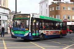 Stagecoach Midlands 37062 YY63YRG (SlightlyReliable70) Tags: stagecoach midlands northampton east bedford 36207 15453 37062 19703 peterborough citi 9 9a dunston drapary bus group alexander dennis enviro 200 adl e200 400 e400