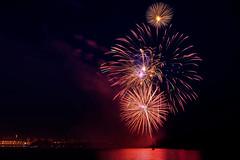 Фейерверк в Омске в День Победы 9 мая 2018 г. (vladsid1969) Tags: fireworks omsk for victory day фейерверк деньпобеды 9мая весна набережная
