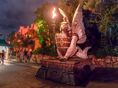 Universal - Sea Guardian (Jeff Krause Photography) Tags: adventure continent eagle fish florida guardian guards ioa islands lost mythos park sea statue studios universal demibeast griffin seagriffin seamonster theme