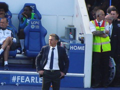 Claude Puel (lcfcian1) Tags: leicester city west ham united king power stadium lcfc whufc epl bpl premier league stadia footy football sport england leicestercity westhamunited kingpowerstadium leicestervwestham