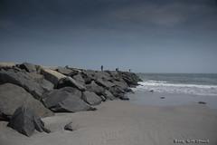 Jetty (scottnj) Tags: 365the2018edition 3652018 day124365 04may18 scottnj scottodonnellphotography jetty ocean water sea sand rock sky waves fishing fisherman atlanticcity