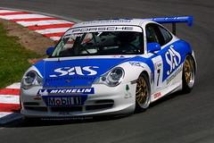 Damian Faulkner - Team Parker Racing - Porsche GT3 Cup (Boris1964) Tags: 2005 porschecarreracupgb brandshatch