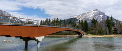 Banff Pedestrian Bridge (chris nelson dot ca) Tags: banff bowriver banffpedestrianbridge