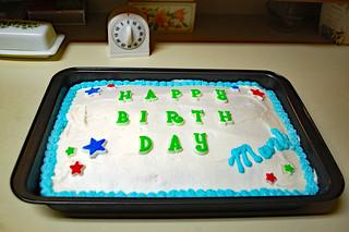 My Birthday Cake.